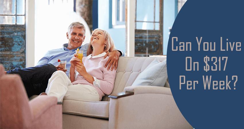a couple has a comfortable retirement