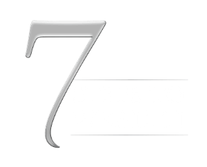 7 steps to wealth logo in white