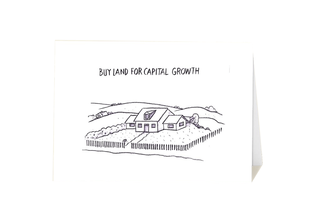 Buy land for capital growth