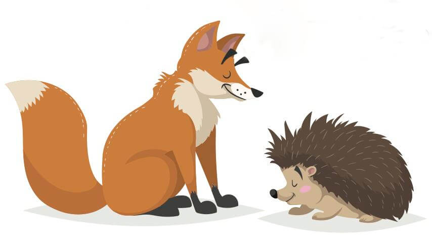 the fox and the hedgehog story