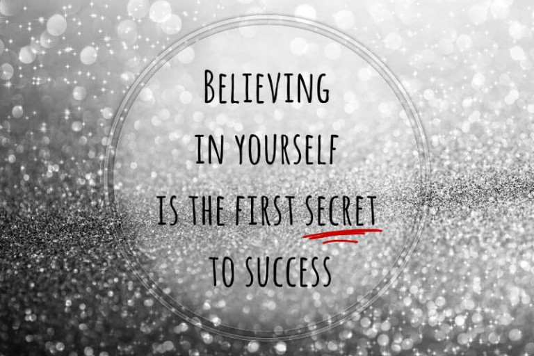 the power of believing in yourself