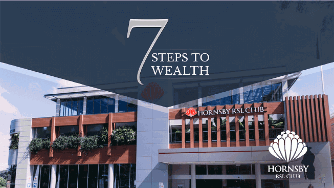 7 steps to wealth property investment seminar-Hornsby
