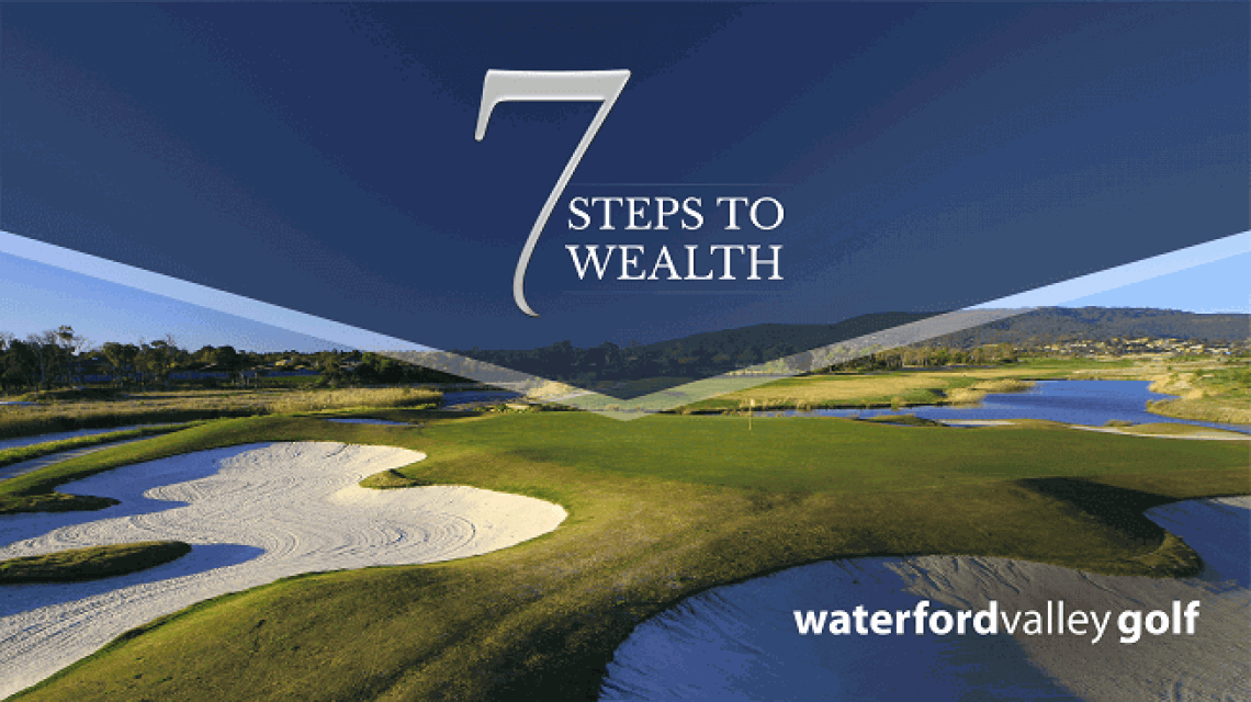7 steps to wealth event is hold at Waterfold valley golf